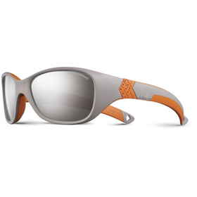 Julbo Kids 4-6Y Solan Spectron 4 Sunglasses Gray/Orange-Gray Flash Silver